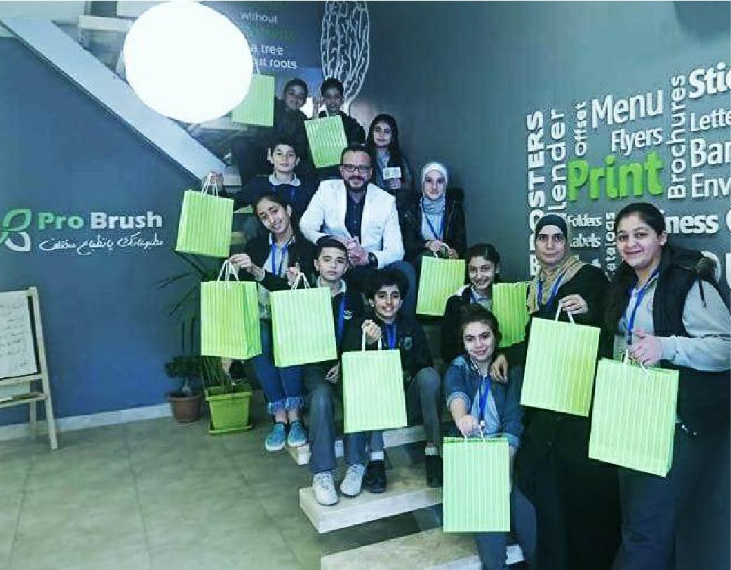 Al-Bayan Schools students visit