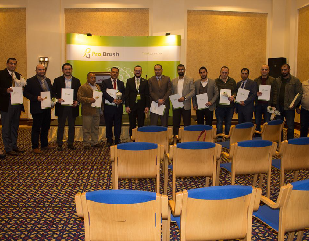 Part of signing agreements at the Movenpick Hotel Dead Sea